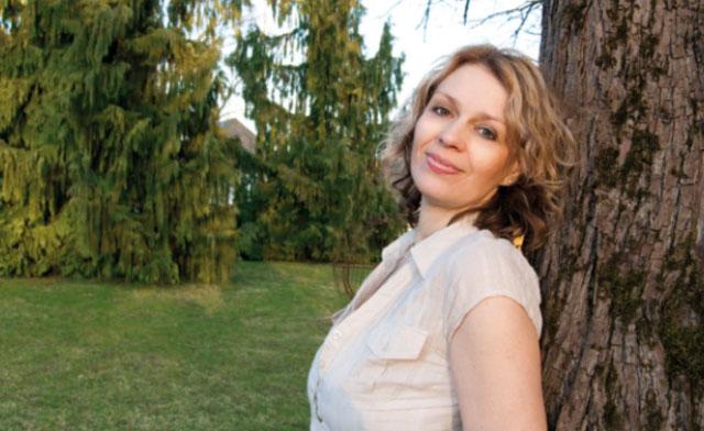 Sabine Forster, die Frau hinter dem Studio.